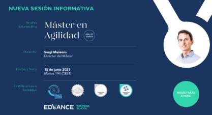 Sesión informativa Máster en Business Agility