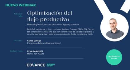 Webinar | Optimización del flujo productivo